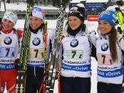 Karin Oberhofer - Federica Sanfilippo - Nicole Gontier - Dorothea Wierer